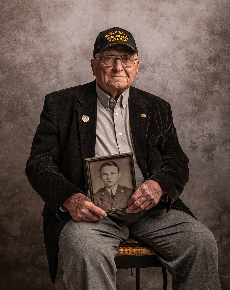 US Army Sgt. Paul Johnson - Photographed 6/9/19