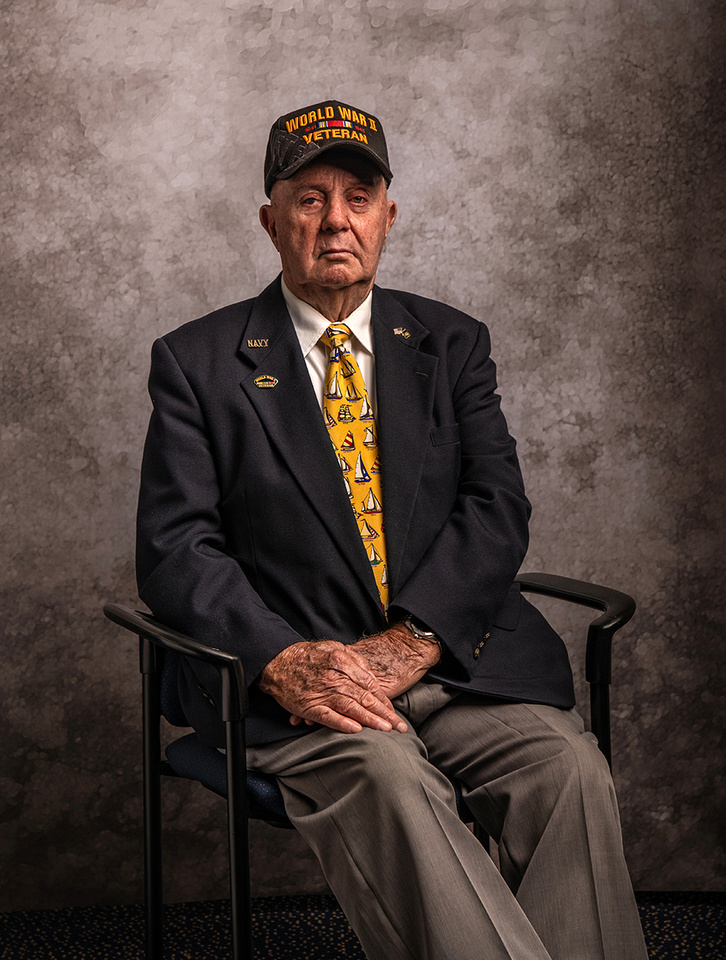 Navy veteran Ardell Johnson - Photographed 5/15/19