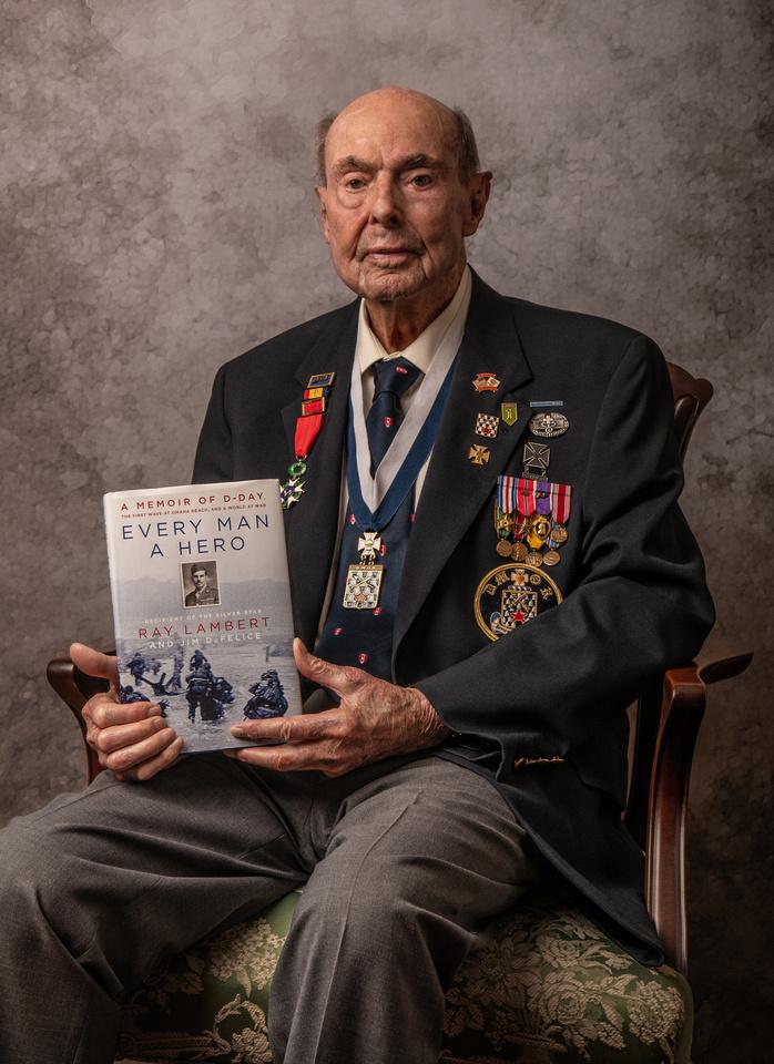 Army Medic Sgt. Ray Lambert - Photographed 8/20/19